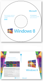 Windows 8 Core DVD-Label undCover