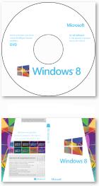 Windows 8 Core DVD-Label undCover