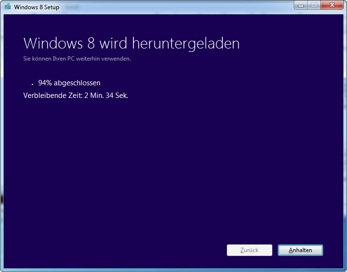 Windows 8 Pro Download