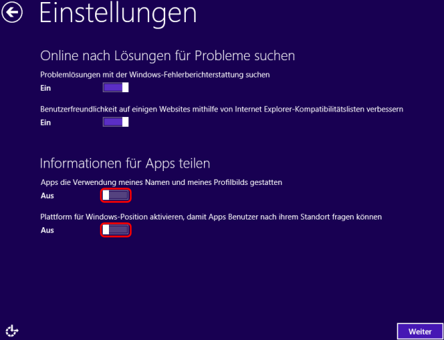 Windows 8 Installation Problemlösungen und Apps