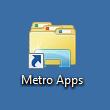 Fertige Verknüpfung zu Metro Apps