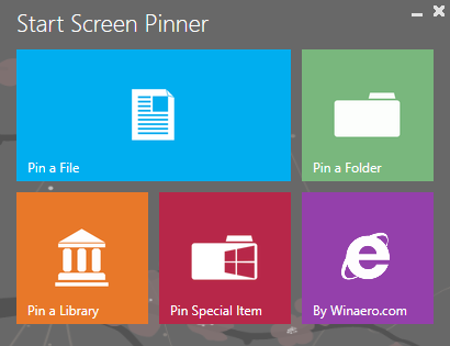 Start Screen Pinner