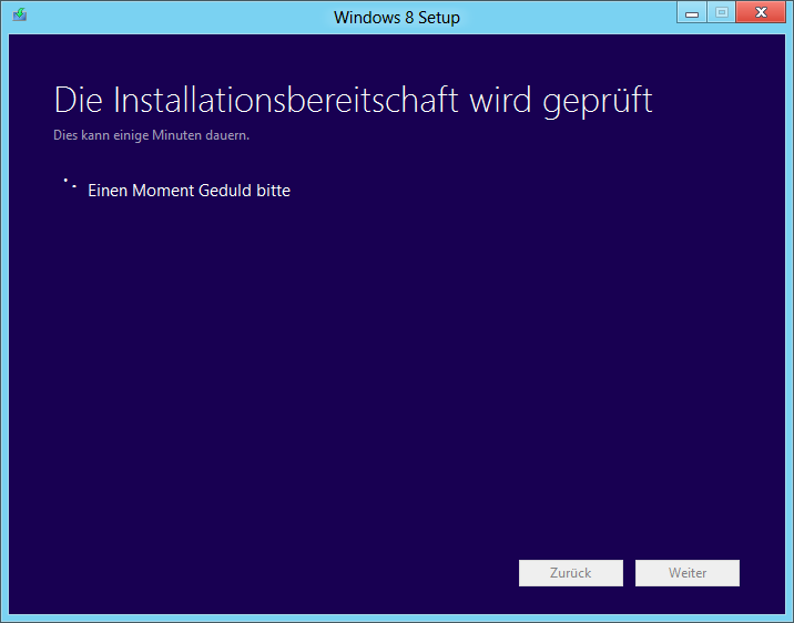 Release Preview: Upgrade - Installationsbereitschaft