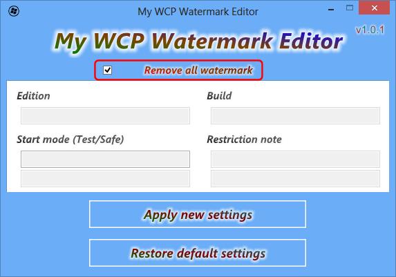 Windows 8 Consumer Preview Wasserzeichen entfernen