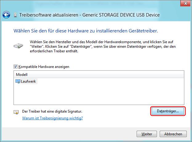 USB-Treiber installieren Bild 4