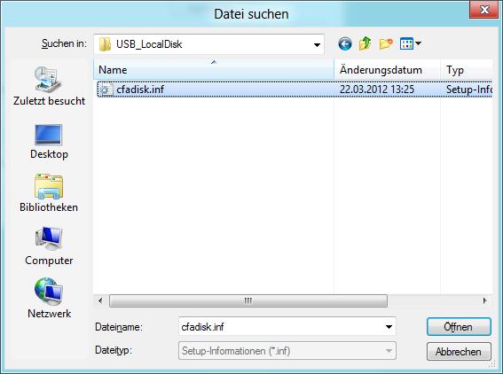USB-Treiber installieren Bild 5